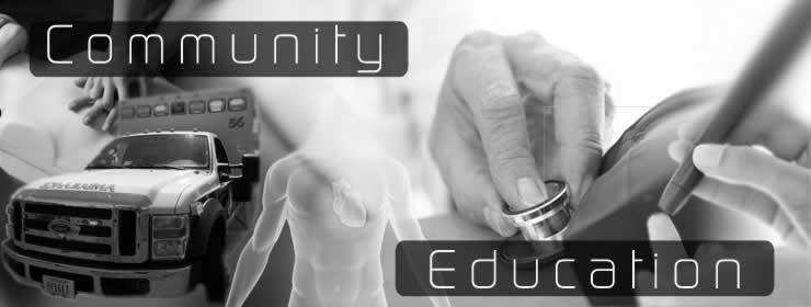 Community Education at Staunton-Augusta Rescue Squad